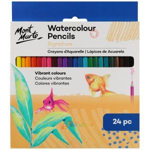 Art supplies colour pencils