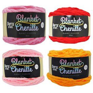 Chenille Blanket Yarn