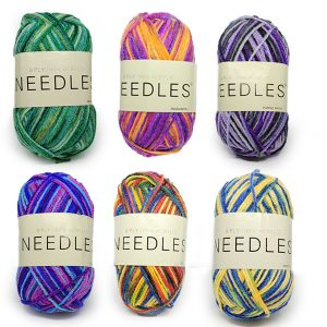 Acrylic Multicolour Yarn
