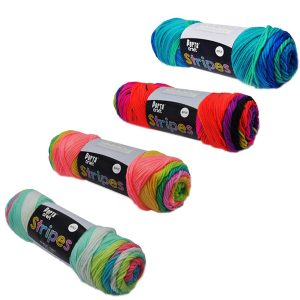 Stripes Acrylic Yarn