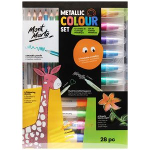 Art supplies colouring set