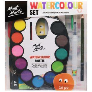 Art supplies water colour set