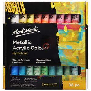Art supplies Metallic Acrylic paint